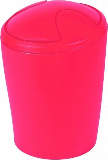 Spirella odpadkový koš 2 l MOVE - frosty red 1009597
