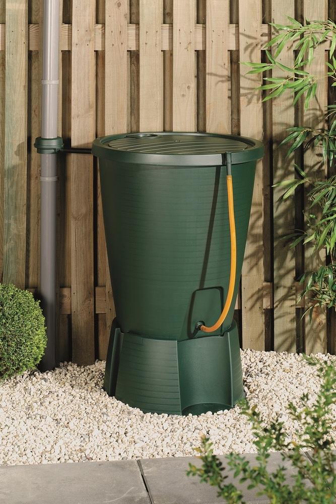Indigo Water butt Plastový sud na dešťovou vodu zelený 171657