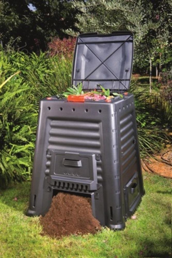 Mega kompostér Keter 650L černý 231598
