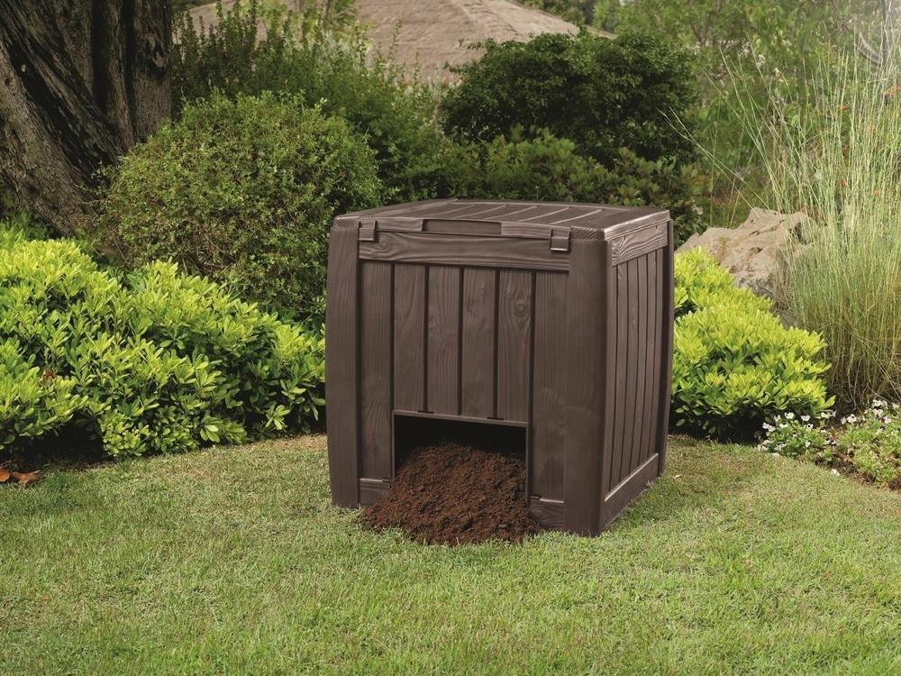 DECO-Kompostér 340L, s podstavcem hnědý 231600