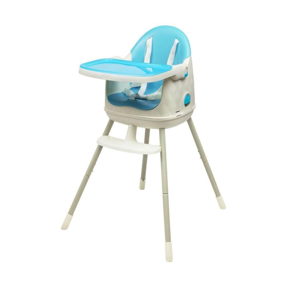 Curver dětská jídelní židlička rostoucí modrá 17198149M