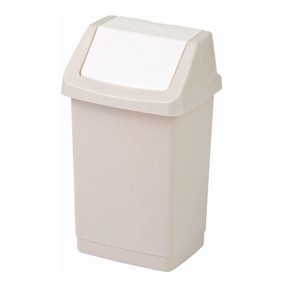 Koš odpadkový 50l CLICK savana