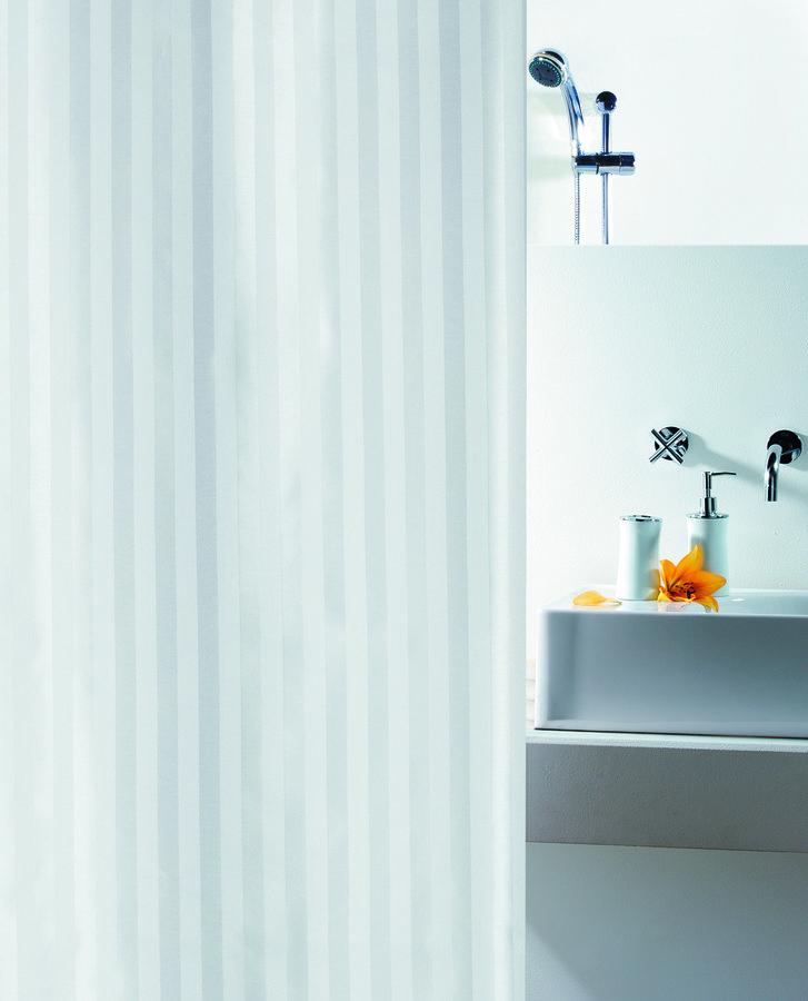 Sprchový závěs MAGI 240 x 200 cm - white