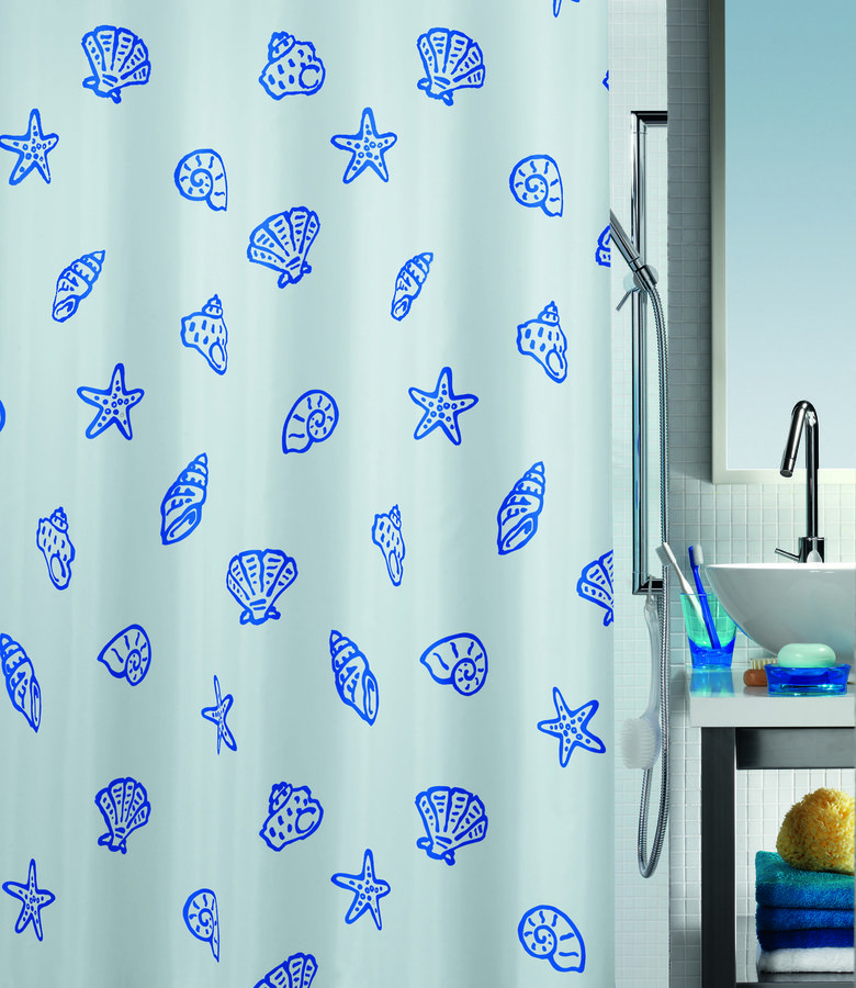 Spirella CONCHA sprchový závěs 1014754