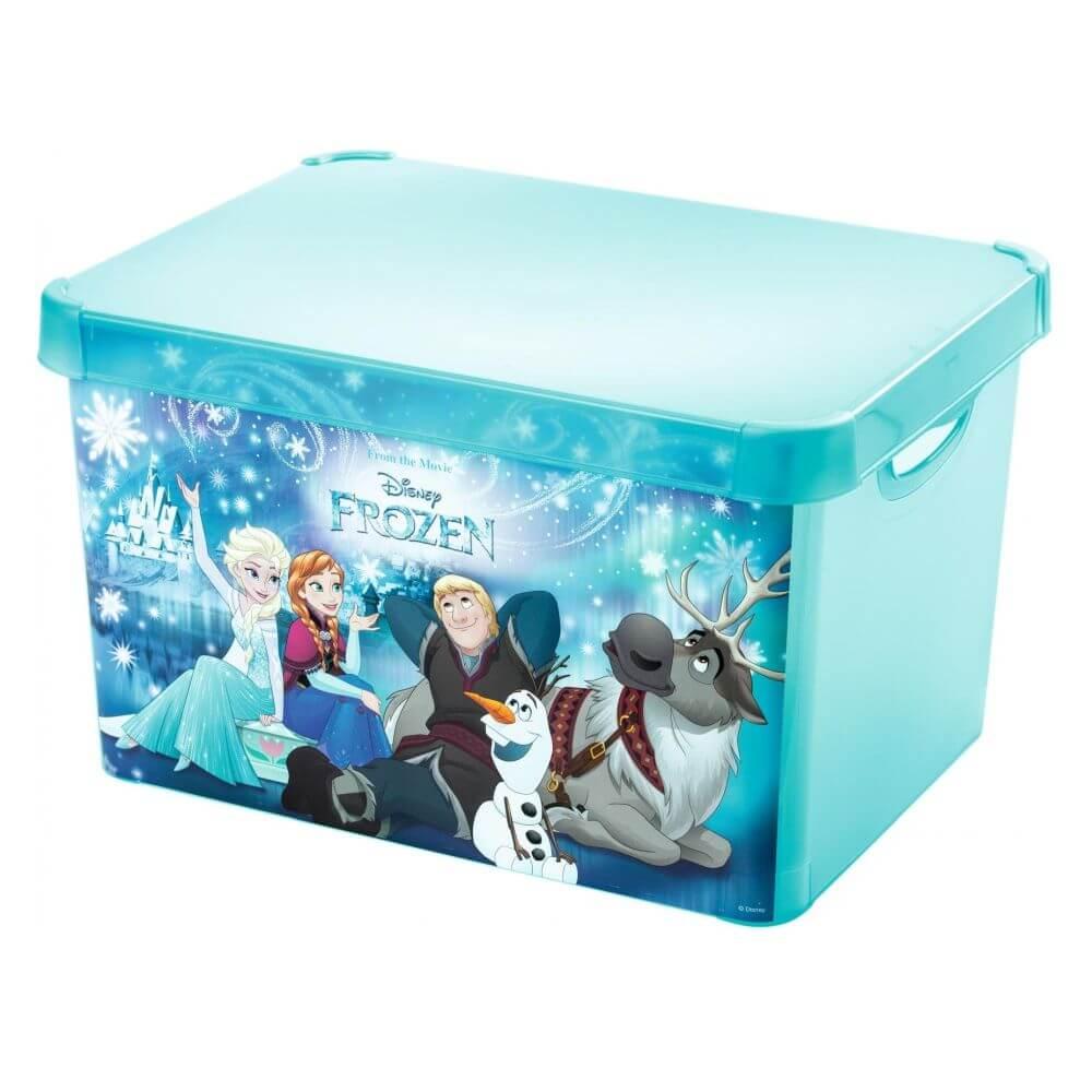 Curver úložný box L Frozen transparentní 04711-F40