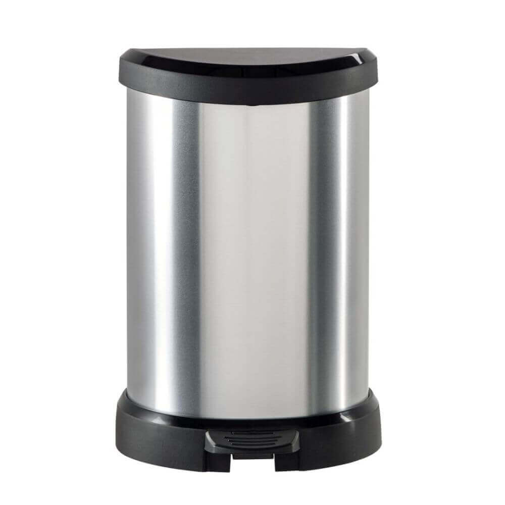 CUrver Odpadkový koš DECOBIN 20l stříbrný 02121-582