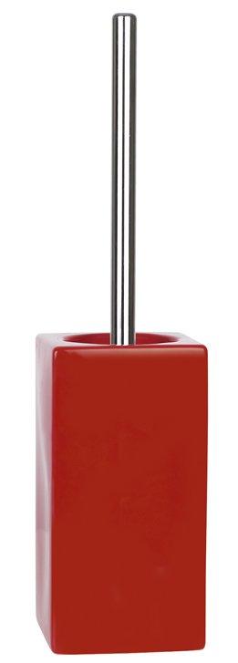 Spirella QUADRO RED WC štětka 1013648