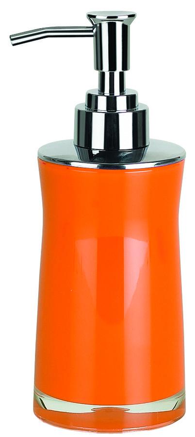 Spirella SYDNEY-ACRYL dávkovač mýdla - oranžová 1013627