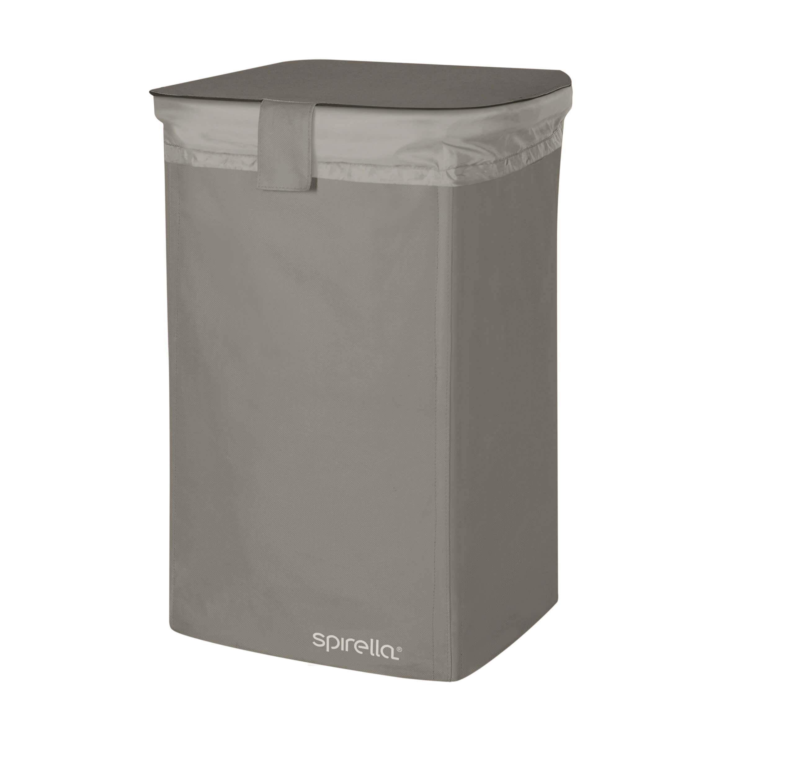 Spirella Textilní koš na prádlo CLASSIC- L grey 1017859