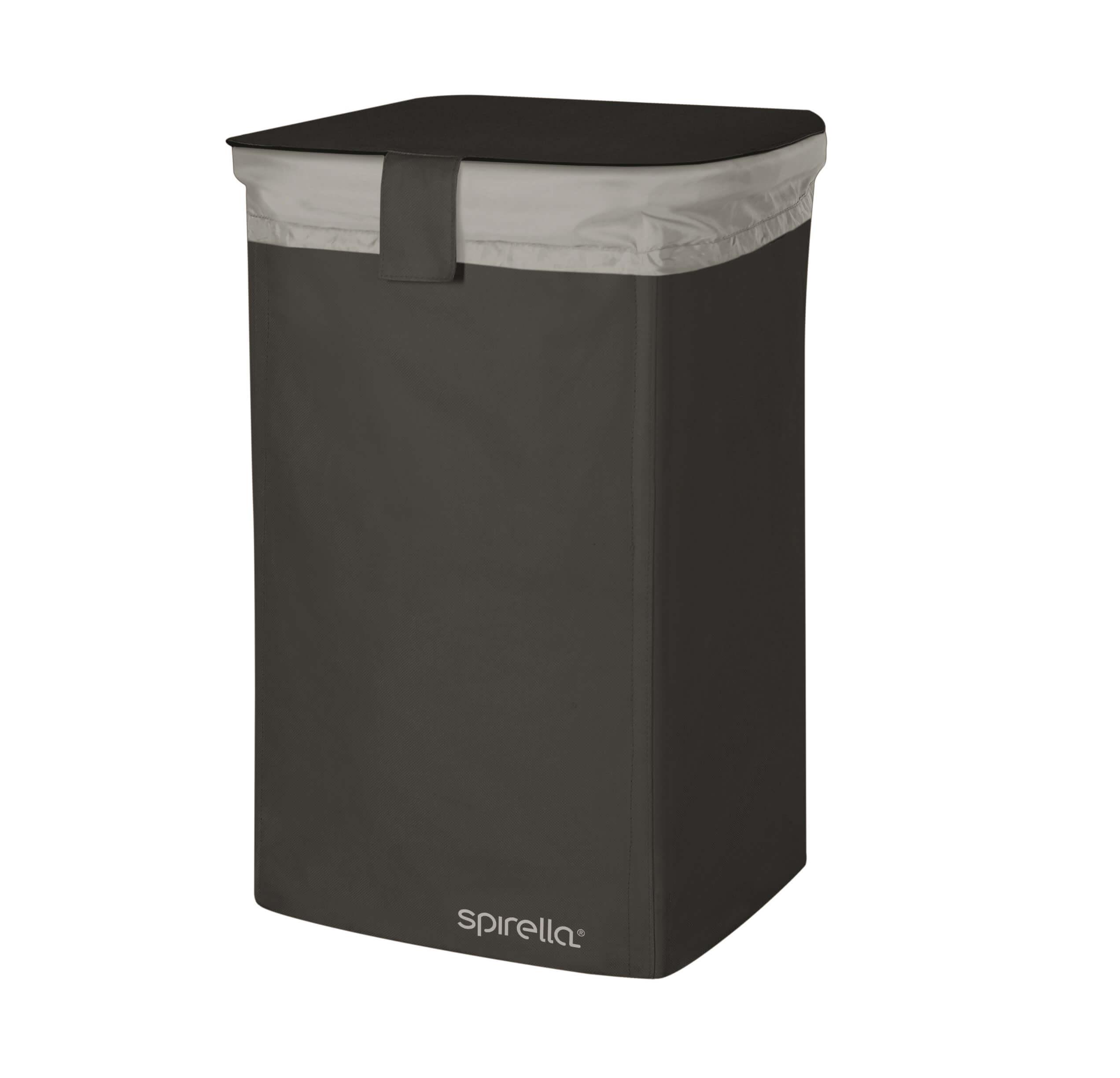 Spirella Textilní koš na prádlo CLASSIC- L black 1017860