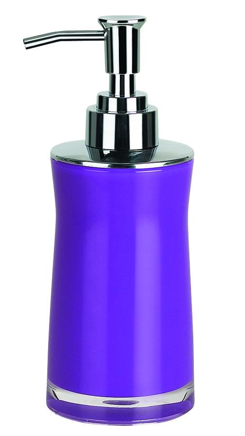 Spirella SYDNEY-ACRYL dávkovač mýdla - fialová 1011335