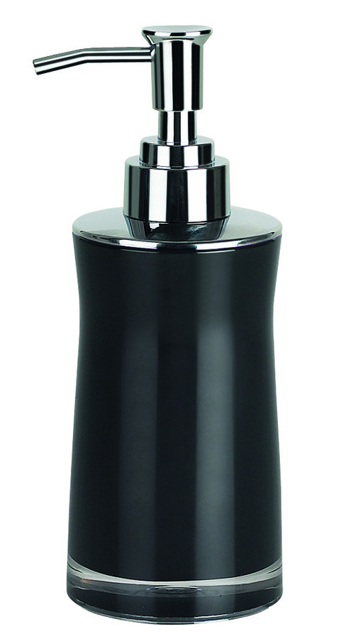 Spirella SYDNEY-ACRYL dávkovač mýdla - černá 1011330
