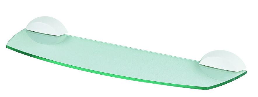 Spirella LEMON skleněná koupelnová polička 1010592