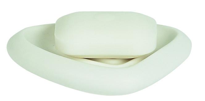 Spirella ETNA mýdlenka - bílá 1010536