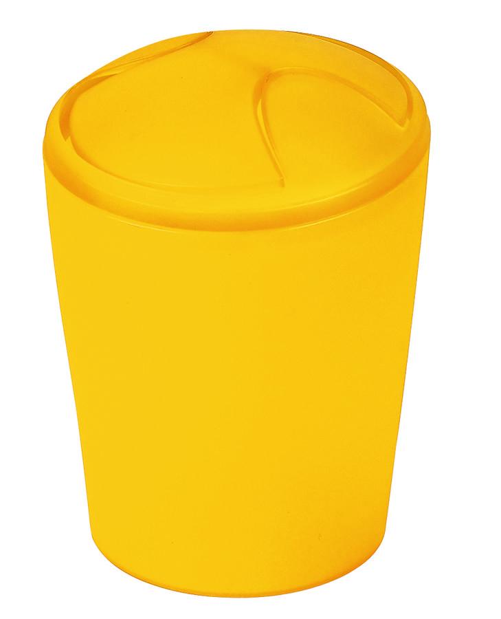 Spirella odpadkový koš 2 l MOVE - žlutá 1010484