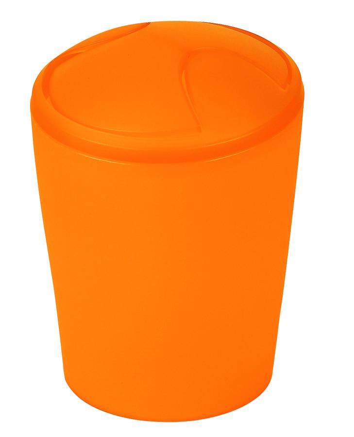 Spirella odpadkový koš 5 l MOVE - oranžová 1010476