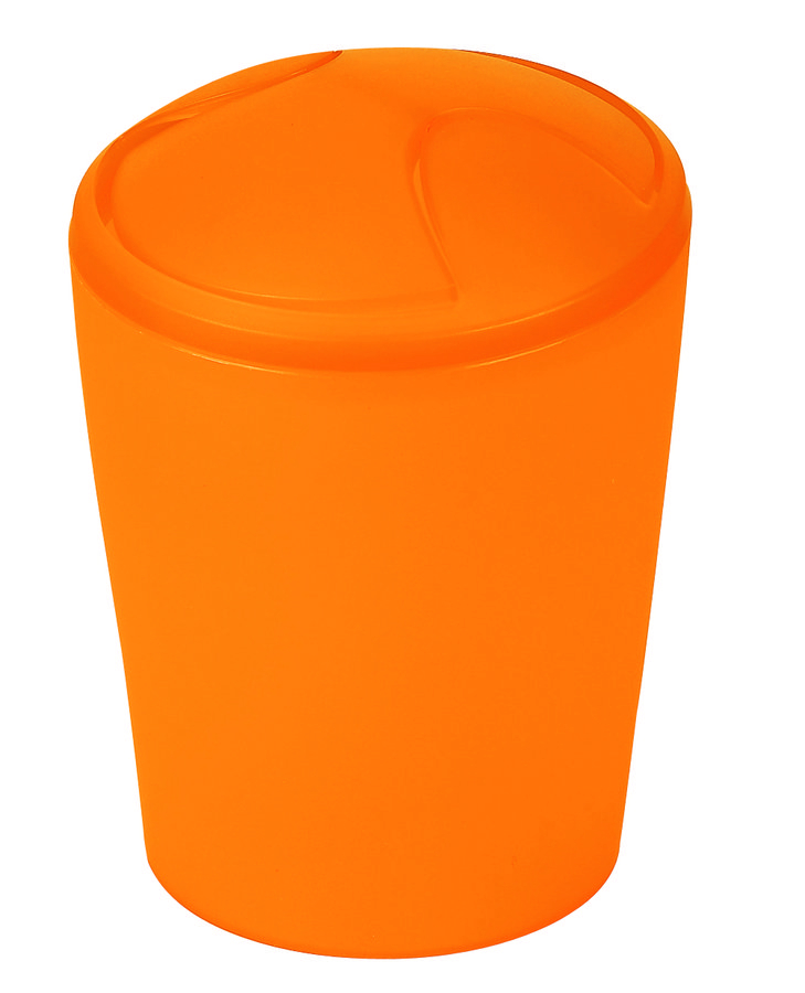Spirella odpadkový koš 2 l MOVE - oranžová 1010475