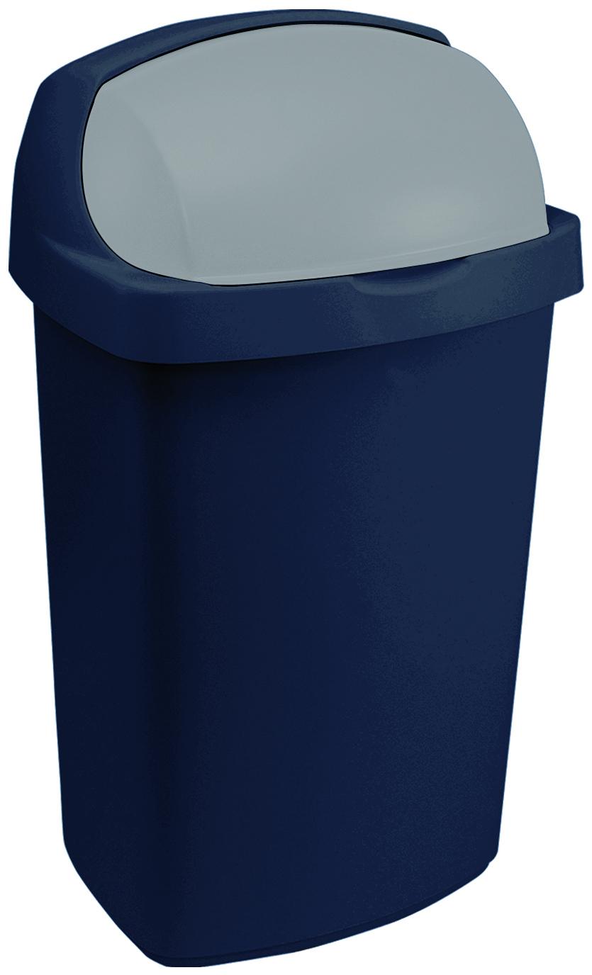Koš odpadkový 10l Rolltop modrý
