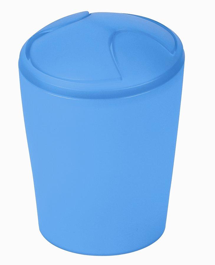 Spirella odpadkový koš 2 l MOVE - modrá 1009583