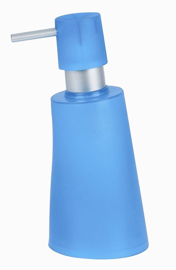 Spirella dávkovač mýdla MOVE - modrá 1009581