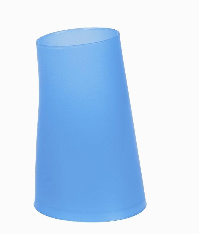 Spirella kelímek na zubní kartáčky MOVE - modrá 1009579