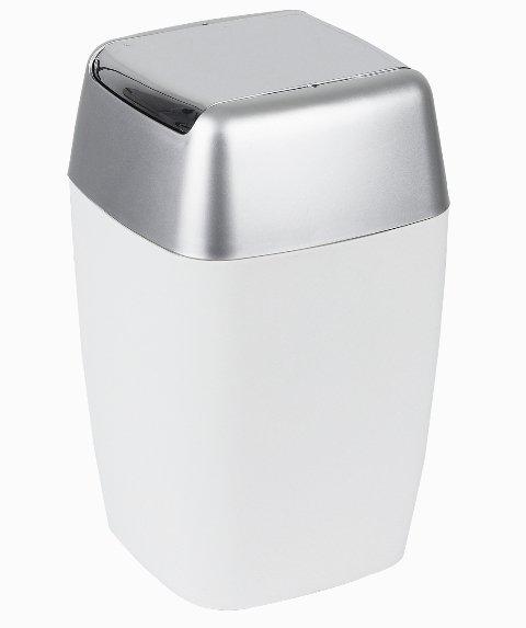 Spirella odpadkový koš RETRO White 1008138
