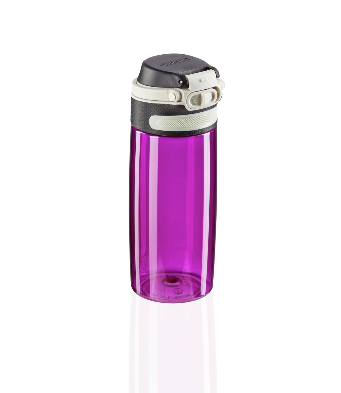 Tritanová láhev se šikovným uzávěrem 550 ml - růžová