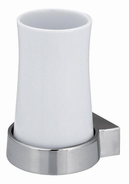 Spirella SYDNEY kelímek na zubní kartáček White 1003179