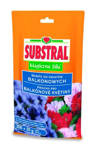 Substral Vodorozpustné hnojivo pro balkónové rostliny 250g 1732101