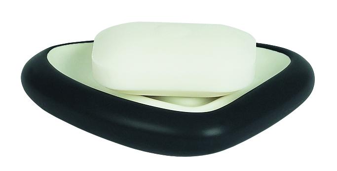 Spirella ETNA mýdlenka - černá 1010543