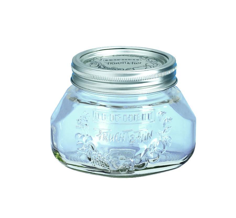 Leifheit zavařovací sklenice 0,5 l