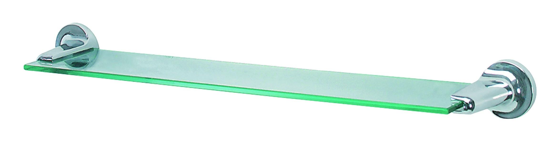 Spirella LAGUNE skleněná polička do koupelny 1003160