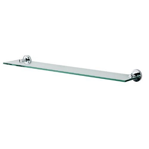 Spirella ATLANTIC skleněná koupelnová polička 1006419