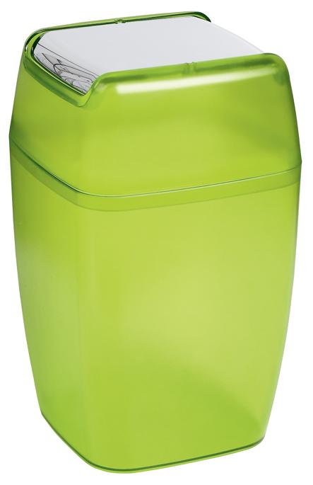 Odpadkový koš PLANET - frosty green