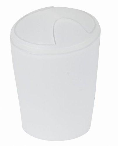 Spirella odpadkový koš 2 l MOVE - frosty white 1009590