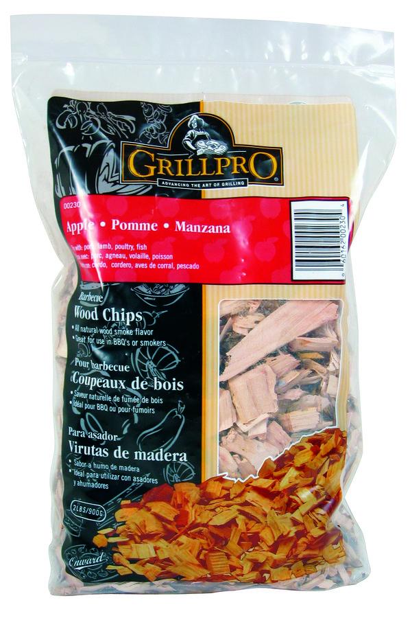 Dřevěné štěpky pro grilování - JABLOŇ GrillPro