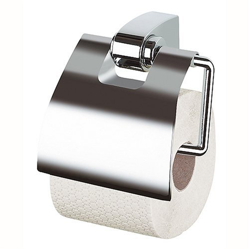 Držák WC papíru OPERA s krytem - chrom