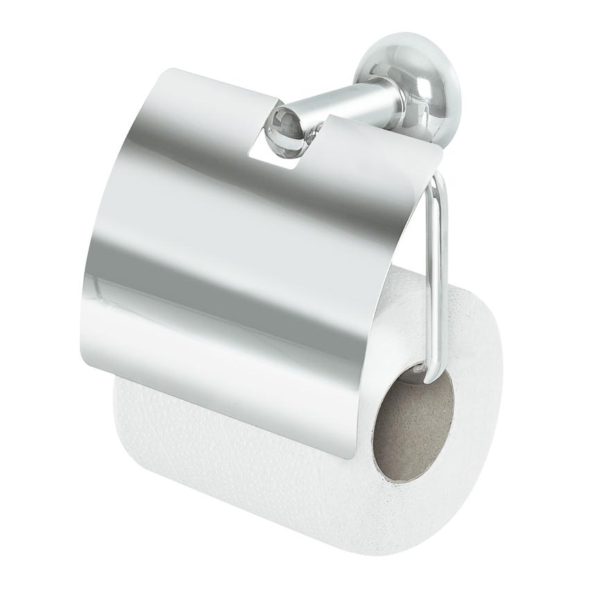 Držák WC papíru CAMPAGNE s krytem - chrom