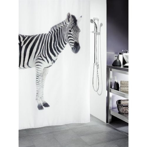 Spirella ZEBRA sprchový závěs 1011554
