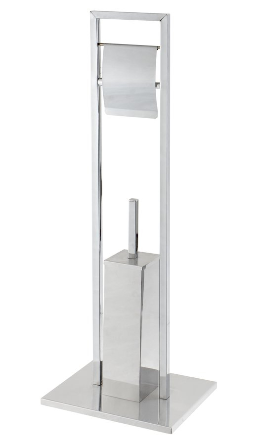 Držák na WC kartáč a toaletní papír DE LUX Bath&home