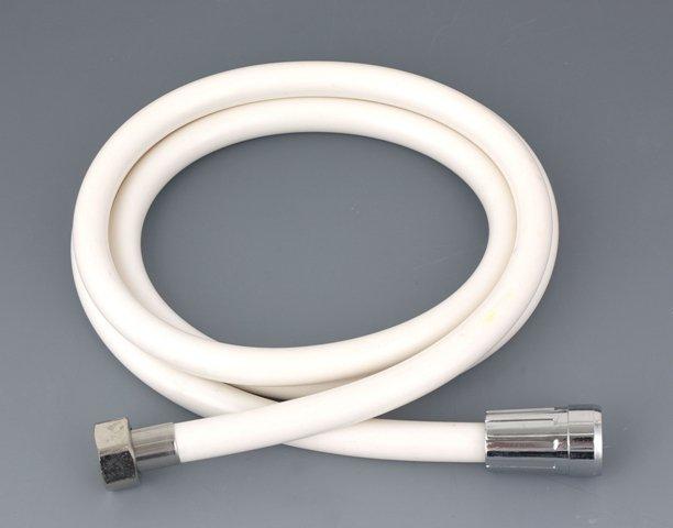 Hadice sprchová bílá 150 cm