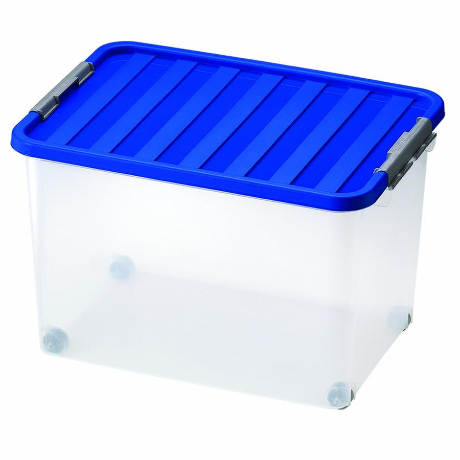 Heidrun box úložný s víkem 45 l pojízdný 1607